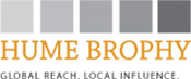 HUME BROPHY. GLOBAL REACH. LOCAL INFLUENCE.